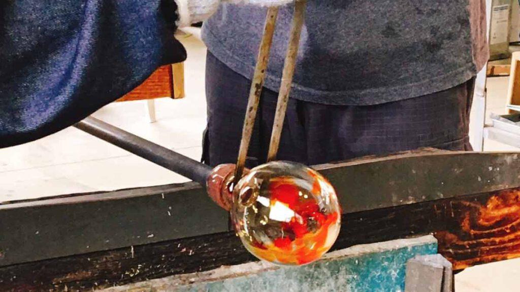 ガラス細工体験 ツクリテラボ